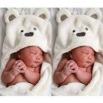 BAIYOU Bébé Sortie de Bain Animaux-Peignoir de Bain à Capuche-Serviette Peignoir à Capuche pour bébé 0-3 ans de la marque BAIYOU image 4 produit