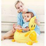 BAMNY Pot de bébé, siège de toilette pour enfant avec sièges rembourrés, appareil de toilette de canard pour enfants de 1 à 7 ans de la marque Bamny image 2 produit