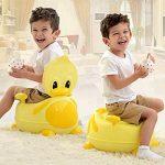 BAMNY Pot de bébé, siège de toilette pour enfant avec sièges rembourrés, appareil de toilette de canard pour enfants de 1 à 7 ans de la marque Bamny image 3 produit