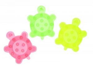 Bébé Confort Set de 6 Pastilles de Bain Antidérapantes Tortues Vert/Jaune/Rouge de la marque BEBE-CONFORT image 0 produit