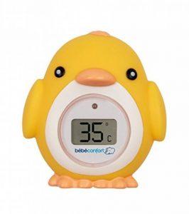 Bébé Confort Thermomètre de Bain électronique Poussin, Thermomètre de Bain pour Bébé en Forme de Poussin, Convient dès la Naissance de la marque BEBE-CONFORT image 0 produit