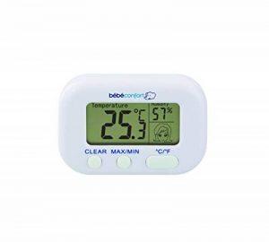 Bébé Confort Thermomètre Hygromètre, Mesure la Température et L'humidité, Convient dès la Naissance de la marque BEBE-CONFORT image 0 produit