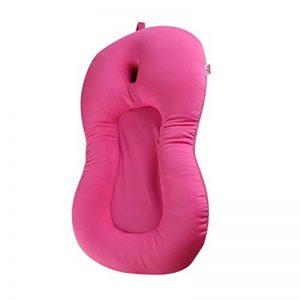 Bébé coussin d'oreiller de coussin d'air coussin flottant siège souple anti-dérapant oreiller de bain accessoires de salle de bain pour bébé nouveau-né ~ rose de la marque FRjasnyfall image 0 produit