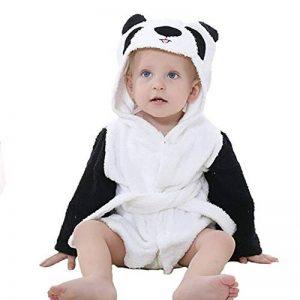 Bébé Garçon/Fille Mignon Animal Doux Peignoir en Coton Capuche Serviettes de Bain Bébé de la marque Yezelend image 0 produit