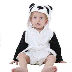 Bébé Garçon/Fille Mignon Animal Doux Peignoir en Coton Capuche Serviettes de Bain pour Bébé … de la marque Minuya image 0 produit