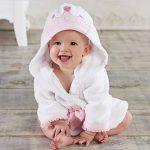 Bébé Garçon/Fille Mignon Animal Doux Peignoir en Coton Capuche Serviettes de Bain pour Bébé … de la marque Minuya image 1 produit