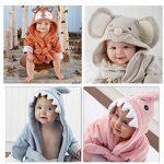 Bébé Garçon/Fille Mignon Animal Doux Peignoir en Coton Capuche Serviettes de Bain pour Bébé … de la marque Minuya image 2 produit