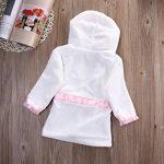 Bébé Garçon/Fille Mignon Animal Doux Peignoir en Coton Capuche Serviettes de Bain pour Bébé … de la marque Minuya image 3 produit