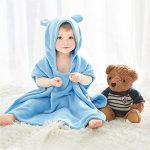 Bébé Garçon/Fille Mignon Doux Peignoir en Coton Capuche Serviettes de Bain pour Bébé de la marque CampHiking image 1 produit