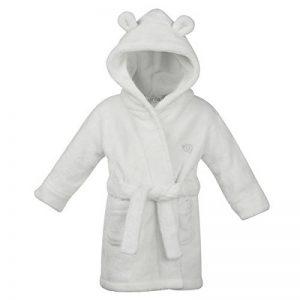Bébé Garçons Peignoir à Capuche en polaire ultra douce peignoir de bain avec cœur oreilles filles de la marque BabyTown image 0 produit