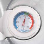 Bébé-jou termobath Click–Baignoire avec doseur et thermomètre intégré Vert menthe de la marque bébé-Jou image 3 produit
