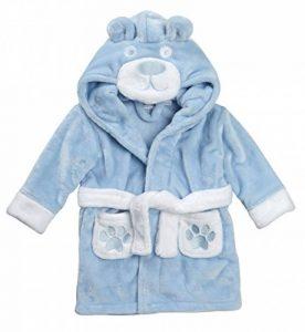 Bébé Peignoir Super Doux Peluche Polaire de 6 Mois à 18 Mois garçon ou Fille de la marque BabyTown image 0 produit