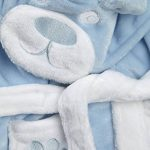 Bébé Peignoir Super Doux Peluche Polaire de 6 Mois à 18 Mois garçon ou Fille de la marque BabyTown image 1 produit