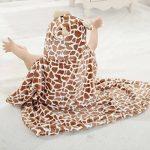 Bébé Sortie de Bain Capuche Animal-Peignoir Cape de Bain Bébé Couverture - Très Chic Mailanda (cafe) de la marque Très-Chic-Mailanda image 1 produit