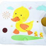 BBCare Siège de bain de sécurité antidérapant pour bébé et tapis de bain extra long avec changement de couleur à chaud (Jaune_Canard) de la marque BBCare image 2 produit