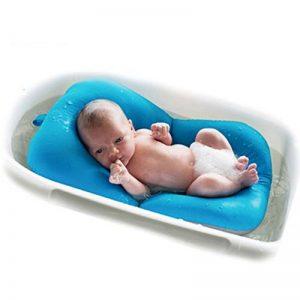 belupai Tapis de bain bébé nouveau-né pliable bébé bain baignoire coussin chaise étagère nouveau-né siège de baignoire nouveau-né coussin tapis de bain(Bleu) de la marque Belupai image 0 produit