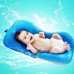 belupai Tapis de bain bébé nouveau-né pliable bébé bain baignoire coussin chaise étagère nouveau-né siège de baignoire nouveau-né coussin tapis de bain(Bleu) de la marque Belupai image 1 produit
