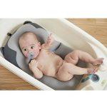 belupai Tapis de bain bébé nouveau-né pliable bébé bain baignoire coussin chaise étagère nouveau-né siège de baignoire nouveau-né coussin tapis de bain(Singe gris) de la marque Belupai image 3 produit