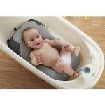 belupai Tapis de bain bébé nouveau-né pliable bébé bain baignoire coussin chaise étagère nouveau-né siège de baignoire nouveau-né coussin tapis de bain(Singe gris) de la marque Belupai image 1 produit