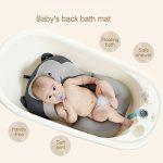 belupai Tapis de bain bébé nouveau-né pliable bébé bain baignoire coussin chaise étagère nouveau-né siège de baignoire nouveau-né coussin tapis de bain(Singe gris) de la marque Belupai image 4 produit