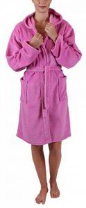 BETZ Peignoir d'intérieur à Capuche pour Enfant Style Couleur Rose Tailles 128-164 Taille 164 de la marque BETZ image 0 produit