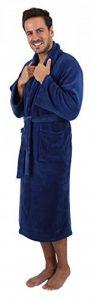 BETZ Peignoir d'intérieur en Microfibres pour Femme et Homme dans Les Tailles S - XXL Taille M - Bleu Marine de la marque BETZ image 0 produit