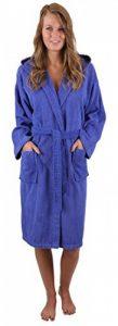 BETZ Peignoir de Bain Capuche Nizza en Tissu éponge 100% Coton Femme Homme Enfant Peignoir de Sport en Couleurs et Tailles diverses 128-164 et S-XXL (S - Bleu) de la marque BETZ image 0 produit