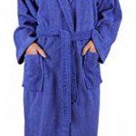 BETZ Peignoir de Bain Capuche Nizza en Tissu éponge 100% Coton Femme Homme Enfant Peignoir de Sport en Couleurs et Tailles diverses 128-164 et S-XXL (S - Bleu) de la marque BETZ image 4 produit