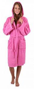 BETZ Peignoir de Bain Capuche Nizza en Tissu éponge 100% Coton Femme Homme Enfant Peignoir de Sport en Couleurs et Tailles diverses 128-164 et S-XXL Taille XL/Pink de la marque BETZ image 0 produit