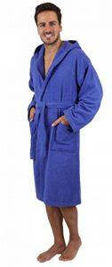 BETZ Peignoir de Bain Capuche Nizza en Tissu éponge 100% Coton Femme Homme Enfant Peignoir de Sport en Couleurs et Tailles diverses 128-164 et S-XXL (XXL - Bleu) de la marque BETZ image 0 produit