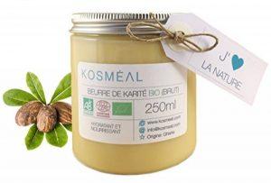 Beurre de Karité BIO Brut - Certifié Agriculture Biologique (AB) et ECOCERT - 250ml de la marque KOSMÉAL image 0 produit