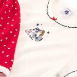 Bilvie Ensemble de Pyjama, Multicolore (Terkuit/Marshmallow 01), 8 Ans (Taille Fabricant: 8A) Fille de la marque Petit-Bateau image 2 produit