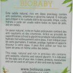 BIOBABY, Savon très doux et naturel, idéal pour bébés et les peaux très fragiles, BIO, surgras de 8% avec de l'huile d'amandes douces BIO, 100 gr, sans huiles essentielles. de la marque BIOLOUSA image 2 produit