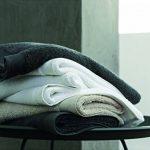 Blanc des Vosges Eponge unie Carre de Toilette Coton Anthracite 30x30 cm de la marque Blanc-des-Vosges image 2 produit