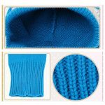 Bonnet Bébé, Bonnet Echarpe Set, Bonnet Hiver pour Bébé, Bébé Unisex Bonnet Chapeau Tricoté, Chapeaux tricoté écharpe Set pour bébé Enfants Filles Garçons de la marque Lutateo image 2 produit