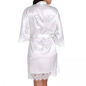 BOYANN Mariée Robes de Chambre et Kimonos Estampage à chaud Satin de la marque BOYANN image 0 produit