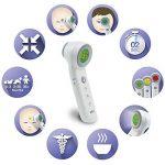 Braun Thermomètre Sans Contact + Contact Avec Technologie Age Precision, BNT400WE de la marque Braun image 2 produit