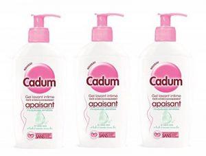 Cadum - Soin Intime Gel Apaisant Toilette Intime Muqueuses Sensibles - 200 ml - Lot de 3 de la marque Cadum image 0 produit