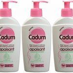 Cadum - Soin Intime Gel Apaisant Toilette Intime Muqueuses Sensibles - 200 ml - Lot de 3 de la marque Cadum image 2 produit