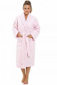 Camille - Robe de Chambre - Polaire Douce - Rose de la marque Camille image 0 produit