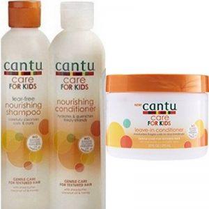 Cantu Soin pour les Enfants Soin Doux pour Texturé Shampooing Cheveux+Après-shampooing+Revitalisant sans Rinçage Lot de 3 de la marque Magic / Cantu image 0 produit