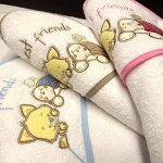 cape de bain animaux brodée et personnalisée avec un prénom, bébé enfant fille garçon 72x72cm, éponge, cadeau naissance, bapteme de la marque N/D image 1 produit