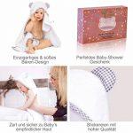 cape de bain bébé coton bio TOP 1 image 2 produit