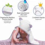 cape de bain bébé coton bio TOP 1 image 3 produit
