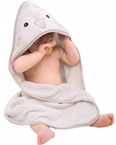 cape de bain bébé coton bio TOP 7 image 0 produit