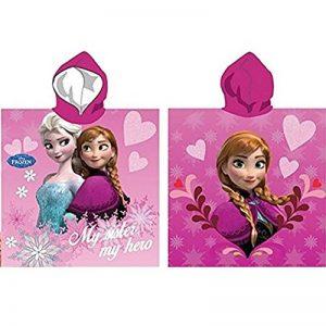 Cape de bain à capuche Disney Anna coeur - la reine des neiges - Frozen de la marque Disney image 0 produit