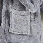 cape de bain personnalisé carré blanc TOP 0 image 2 produit