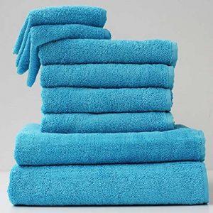 Carpe Modo 6pièces de salle de bain 2pièces serviette set + 4x Gants de Toilette Turquoise de la marque Carpemodo image 0 produit