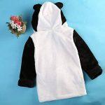 Casa Bébé Peignoir à Capuche des Gamins Serviette de Bain Mignonne Enfant Ultra-Doux Toison Pyjamas 90-130 cm de la marque Casa image 3 produit