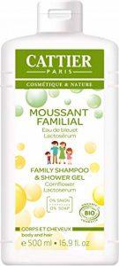 Cattier Moussant Familial au Lactoserum cheveux et corps 500ml de la marque CATTIER image 0 produit